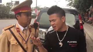 Giang hồ ẩu đã với CSGT Hà nội ( 20-5-2018)