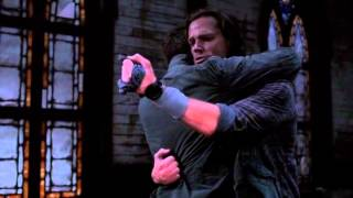 Supernatural season 8 finale: last 5 minutes, The Fall of the Angels
