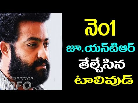 Prabhas told Jr NTR is Tollywood No 1Jr NTR new movie latest updates