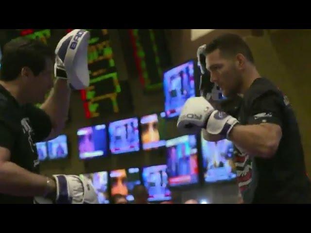 UFC 187: Open Workout Highlights