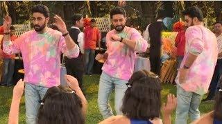 Abhishek Bachchan's CUTE Dance For KIDS At Daughter Aradhya Bachchan's Birthday Party