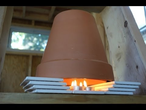 A DIY Tiny House Heater