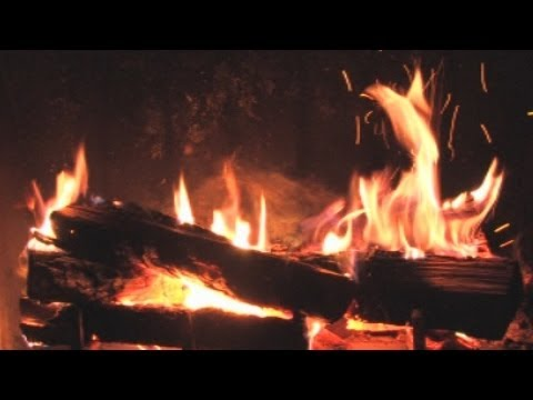 ♥♥ The Best Fireplace Video (3 hours long)