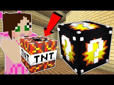 Minecraft: EXPLOSION LUCKY BLOCK!!! (50 TYPES OF TNT & EXPLOSIVES!!) Mod Showcase