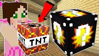 Minecraft: EXPLOSION LUCKY BLOCK!!! (50 TYPES OF TNT & EXPLOSIVES!!) Mod Showcase