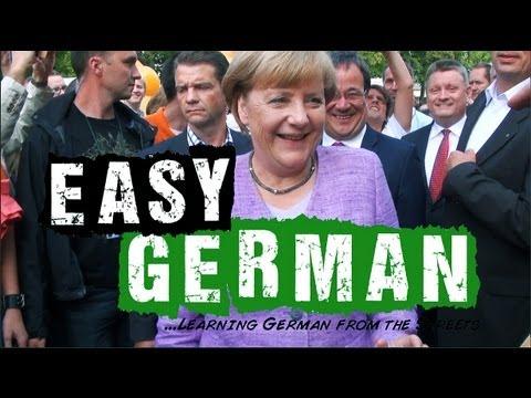 Easy German 40 - Wahlkampf mit Angela Merkel