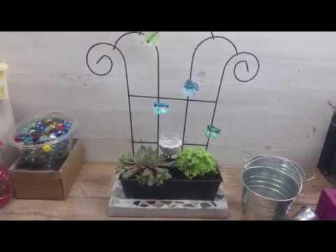 DIY Gartendeko Fenster ganz einfach selber machen