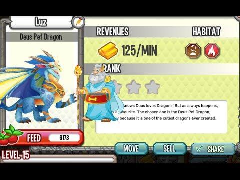 Dragon City Deus Pet Dragon Review And Combat