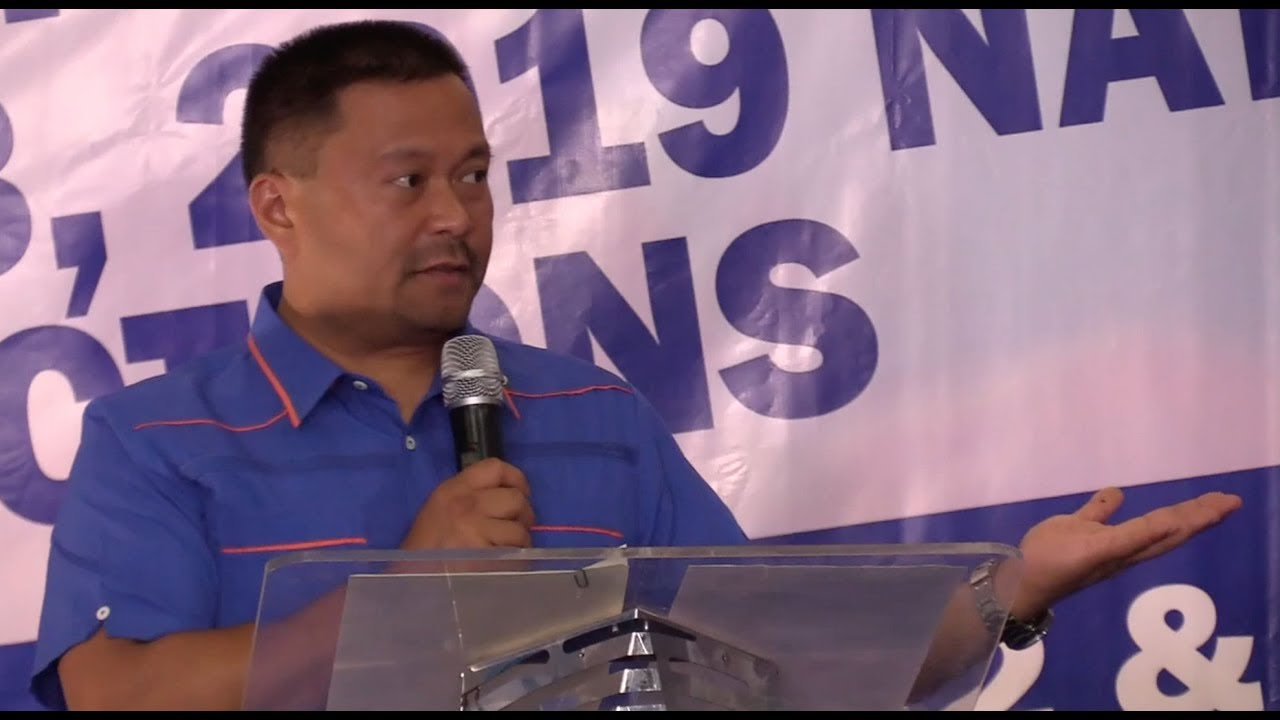 JV Ejercito files COC for senator in 2019 elections