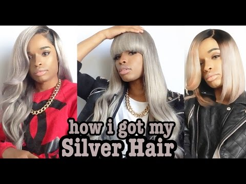 How Did I Get My Grey/Silver Hair? ( Detailed Tutorial )