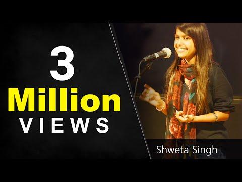 Best Love Poetry    Amazing Hindi Storytelling by Shweta Singh   Nojoto Open Mic 2017