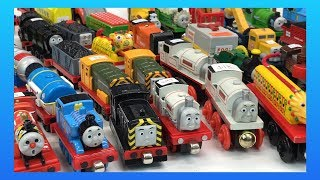 MASSIVE TOTALLY THOMAS TOWN UNBOXING! Wooden, Take Along, ERTL Trains