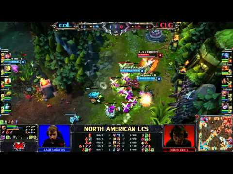 coL vs CLG - LCS 2013 NA Spring W4D3 (English)