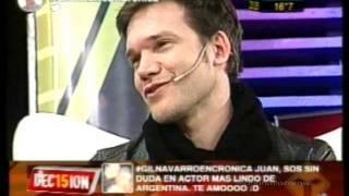 Juan Gil Navarro en DEC15ION