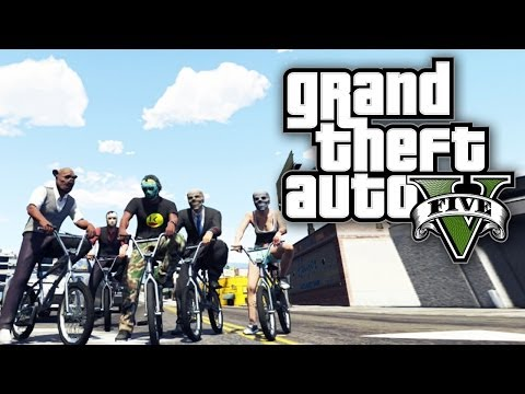 GTA 5 THUG LIFE #44 - BICYCLE GANG! (GTA V Online) klip izle