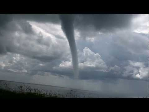 Waterspout / Tornado - Carolina Beach, NC 8/18/2011