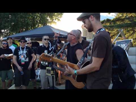 Music 4 Cancer : Tim Armstrong (Rancid) and The Interrupters Secret Show @ Rock Fest 2014