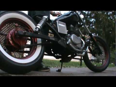 1986 Honda CMX250 Rebel Rat/Bobber Resurrected - YouTube