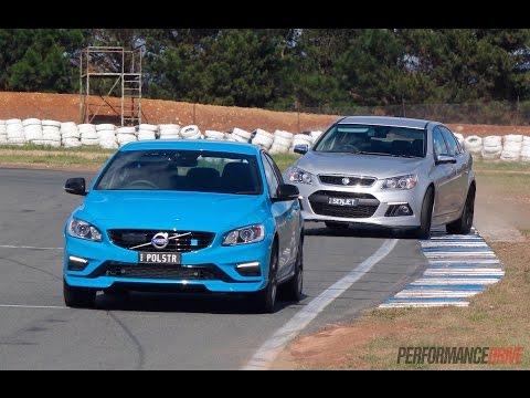HSV Senator vs Volvo S60 Polestar: track comparison (POV)