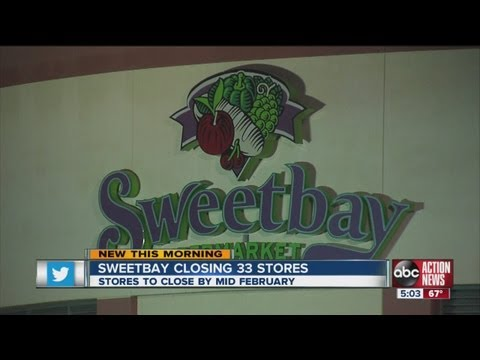 Sweetbay Supermarkets to close 33 stores