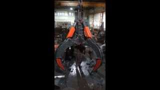Hydraulic Rock Grab - Nur Group Engineering