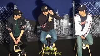 EXO - Chanyeol(찬열)、KAI(카이)、Sehun(세훈) MLB Event In Hong Kong 20180323