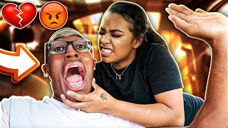 I TOLD CARMEN THE CAR IS NOT HERS!! **I never seen her like this before**