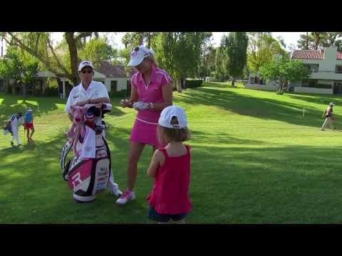 LPGA Player Feature: Paula Creamer's Brightly-colored Style