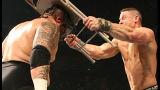 The Great Khali vs Umaga vs John Cena WWE Championship Full Match Monday Night Raw