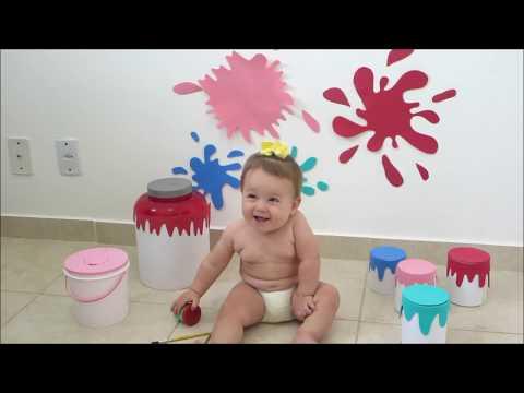 Tinta caseira comestível para bebês - Por Carolina Santos