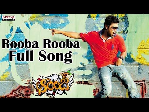 Rooba Rooba Full Song Ii Orange Movie Ii Ram Charan Teja, Genelia D'souza video