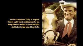 Watch Ernest Tubb Shenandoah Waltz video