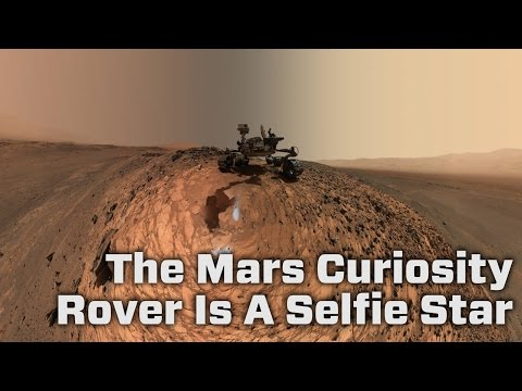 NASA Reveals Mars Curiosity Rover's Third Selfie