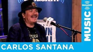 "Carlos Santana on His New Album ""Africa Speaks"" and Collaborating With His Wife"