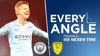 ZINCHENKO'S FIRST CITY GOAL | EVERY ANGLE | MAN CITY v BURTON ALBION
