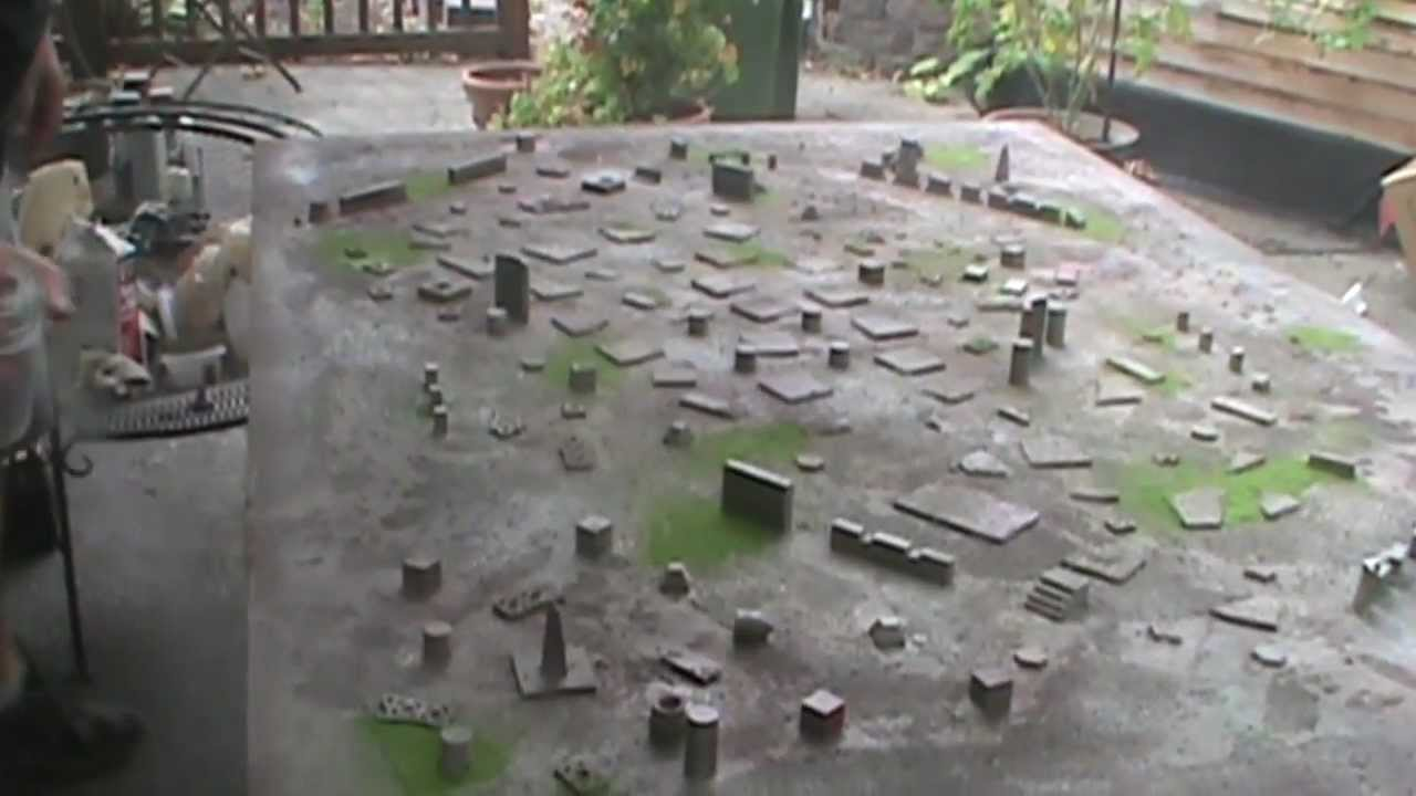 warhammer 40k terrain board making tutorial
