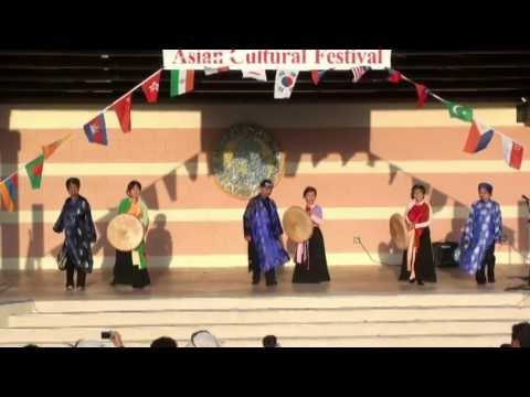 """Hoi Trang Ram"" - Dance on Moon Night Festival - Asian Cultural Festival 2013"