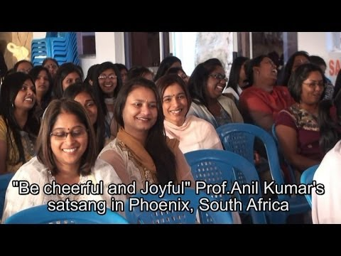Be Cheerful And Joyful Youth Satsang In Phoenix, South Africa, Sept 14, 2013 video
