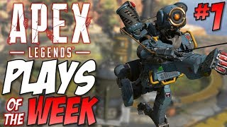 APEX LEGENDS Plays Of The Week #1 | Titanfall Battle Royale
