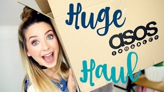 Huge Holiday ASOS Haul & Try On | Zoella