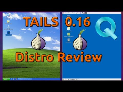 TAILS 0.16 Linux Distro Review