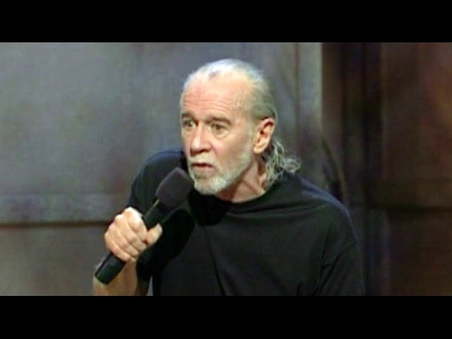 Legendary comedian George Carlin is the newest face of the National Portrait Gallery