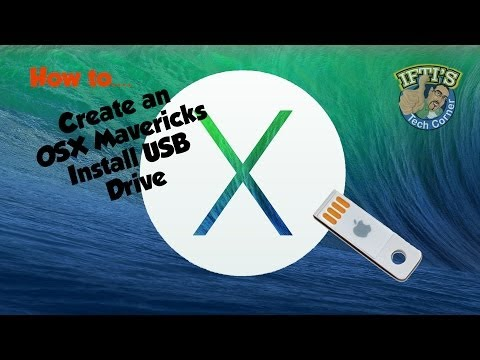OSX 10.9 Mavericks - How to Create a Bootable USB Flash Drive