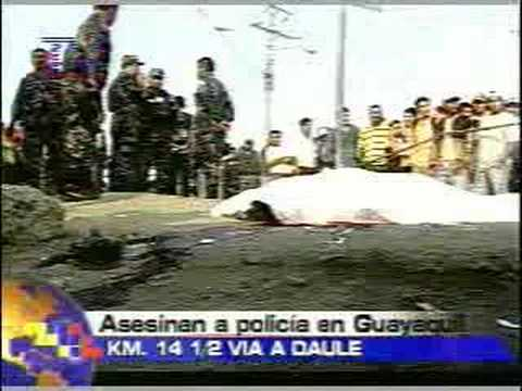 Asesinan a policia en guayaquil