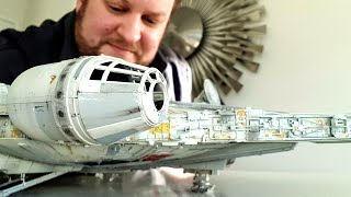 Building Bandai's Perfect Grade Millennium Falcon from start to finish