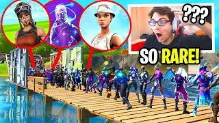 I Hosted a RARE SKINS ONLY Fortnite Fashion Show for $100... (EVERY SKIN WAS RARE!)