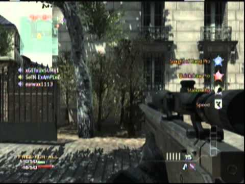 DoNT HeZiTaTe CLan in Private Match Quicksnipe Mw3