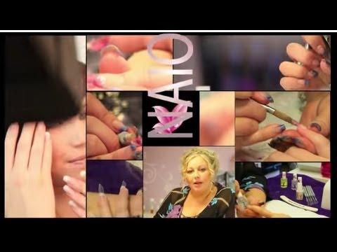 3d nail art design flower petals by naio nails