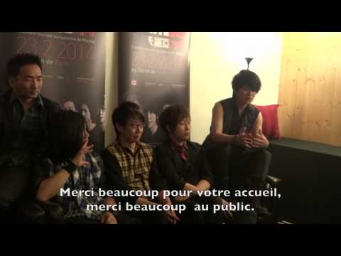 MAYDAY AU ZENITH DE PARIS (NOW-HERE TOUR) - CONFERENCE ET CONCERT 140123