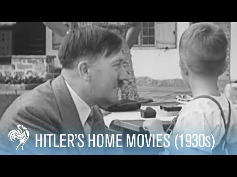 Hitler's home movies (ft. Hitler dancing)
